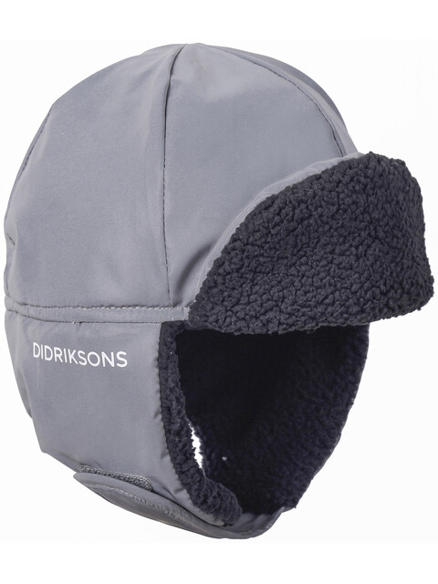 Didriksons 1913 Biggles Reflective Cap Kids Silver